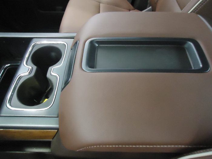 C3  CHEVY AND GMC TRUCKS PICTURE MUST MATCH YOUR COVER THIS COVER FITS 2 DIFFERENT CONSOLES WHICH ARE SHOWN HERE / COMES WITH A  FOAM INSERT