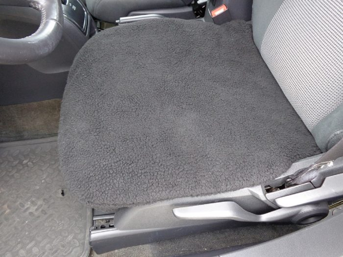 Bottom Seat Covers Faux Sherpa   PAIR